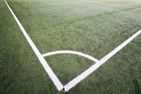 Corner marking on soccer field - 07754CS-U
