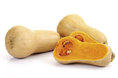 Butternut pumpkins, close-up - 07715CS-U