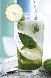 Mojito with fresh limes and mint - 07811CS-U