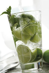 Mojito with fresh limes and mint - 07808CS-U