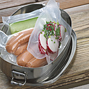 Food, vacuum packed, close-up - CHK00890