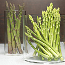 Green asparagus, close-up - CHK00860
