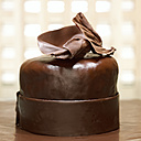 Chocolate cake, close-up - CHK00854