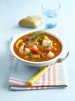 Vegetable soup with shrimps - KSWF00063