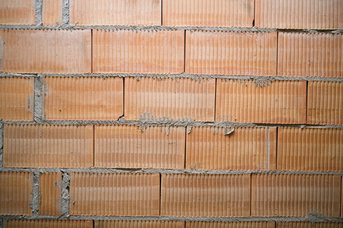 Brick wall, close-up, full frame - HKF00111