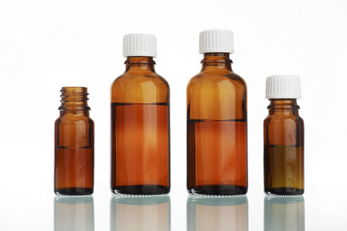 Medicine bottles, close up - RDF00310