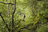 Hiker in the forest - GWF00551