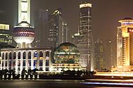 China, Shanghai, Oriental Pearl TV Tower - GW00565