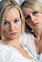 Two blonde women, portrait - DKF00149
