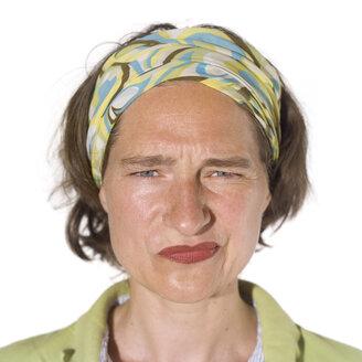 Portrait of a woman, close-up - MU00218