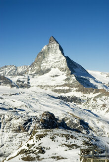 Switzerland, Matterhorn, mountain range - NHF00690