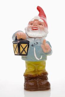 Garden gnome with lantern - MUF00301