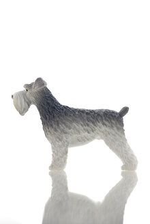 Plastic Figurine of a terrier - MU00344
