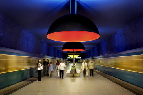 Germany, Bavaria, Munich, Westfriedhof Subway Station - MB00786