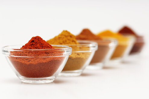 Different spices in bowls - 00380LR-U