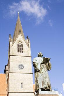 Germany, Erfurt, Luther memorial, Kaufmannskirche - UK00147
