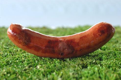 German Bratwurst, fried sausage, close-up - ASF03619