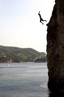 Greece, Korfu, Cliff jumping - RDF00373