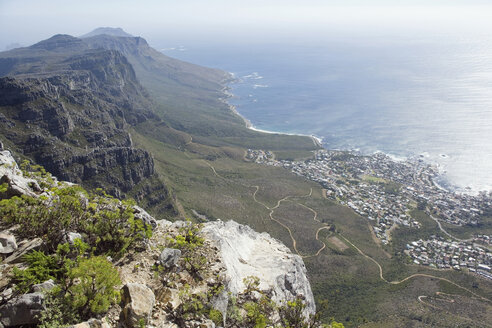 South Africa, Cape Town, view from Table Mountain - ABF00406