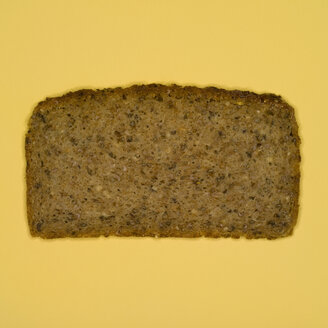 Slice of bread, elevated view - MUF00427