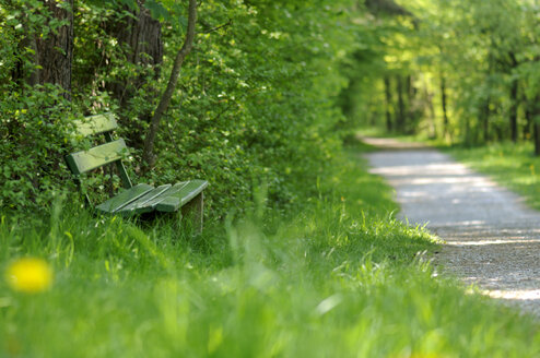 Germany, Langenargen, Seat outside - SMF00333