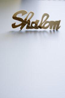 Shalom sign - JRF00025