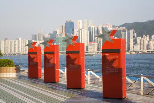 China, Hong Kong, Kowloon, The Avenue of Stars - GW00767