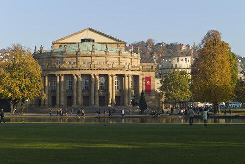 Germany, Baden Württemberg, Stuttgart, State Opera House in Stuttgart - KM01314