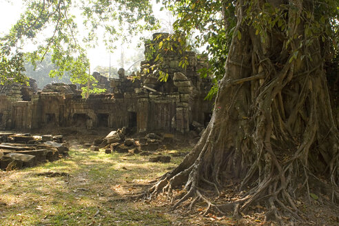 Cambodia, Siem Reap, Preah Khan Temple, Ruins - GA00062
