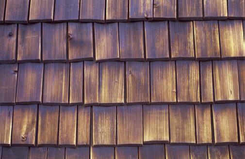 Wooden shingles, full frame - PMF00586