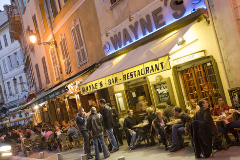 France, Cote d'Azur, Nice, Pubs and night life - WD00167