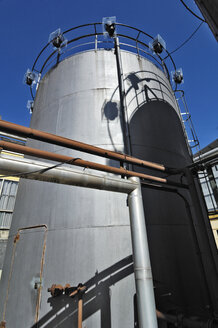 Industrial plant, silo, piping system - MBF00824