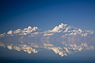 Africa, Namibia, Etosha National Park, Clouds over lake - FOF01129