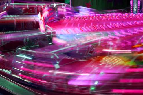 Merry-go-round, blurred-motion - AWDF00015