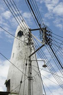 Africa, Kenia, Mombasa, Power line mast - AWDF00003
