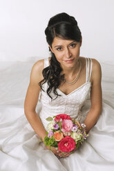 Young bride, elevated view - NHF00876