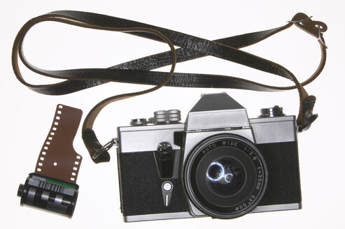 SLR camera, close-up - THF00879