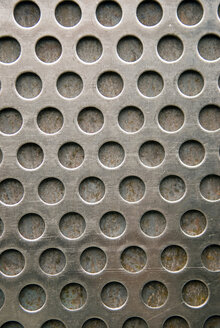 Perforated Steel (full frame), close-up - AWDF00239