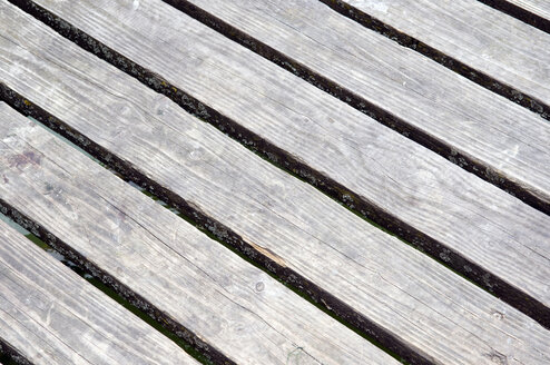 Wooden boards, full frame, close-up - AWDF00175