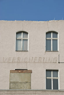 Germany, Berlin, Old building, Facade in decay - PM00738