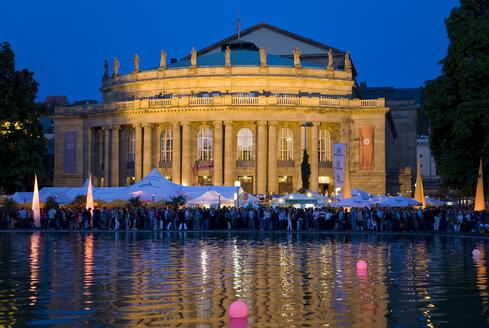Germany, Baden-Württemberg, Stuttgart, Opera House - WD00240