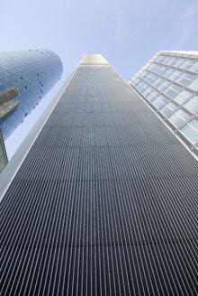 Germany, Frankfurt on the Main, Main Tower, low angle view - MUF00726