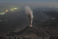 Guatemala, Santiaguito volcano, Ash eruption - RM00309