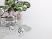 Diamonds and Diamond ring - AKF00047