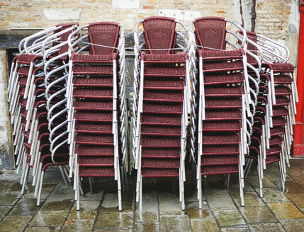 Stack of chairs - WWF00454