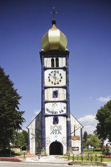 Austria, Steiermark, Bärnbach, Hundertwasser Church - WWF00500