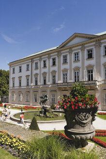 Austria, Salzburg, Mirabell Palace, Pegasus fountain - WW00555