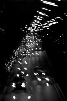 Germany, Hamburg, Urban traffic at night - TLF00274