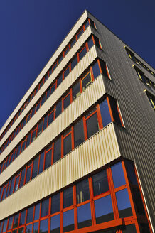 Germany, Office building, Facade, low angle view - MBF00925
