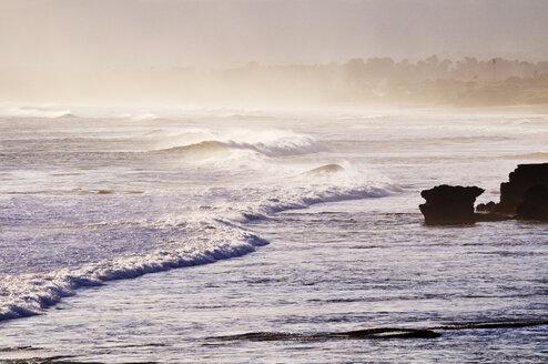 Indonesia, Bali, Waves crashing on shore - MB00907